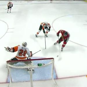 Handzus and Kruger score perfect 2 on 1 goal