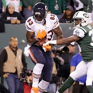 Chicago Bears tight end Martellus Bennett 7-yard TD reception