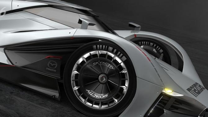 Mazda puts Le Mans heritage on display with LM55 Vision Gran Turismo car