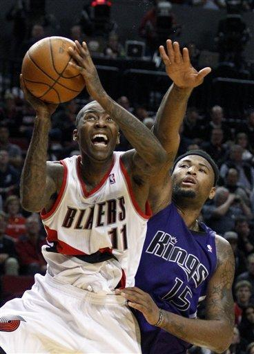 Blazers down Kings 101-89