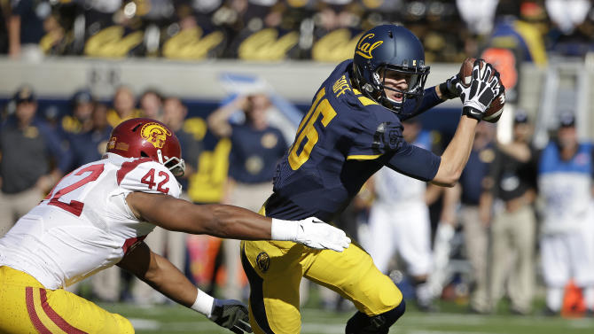 Agholor, Allen lead USC to 62-28 win over Cal