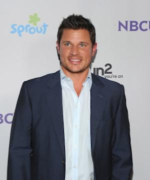 Nick Lachey seen looking dapper at the NBC Universal TCA 2011 Press Tour All-Star Party at the SLS Hotel in Los Angeles on August 1, 2011  -- Getty Images