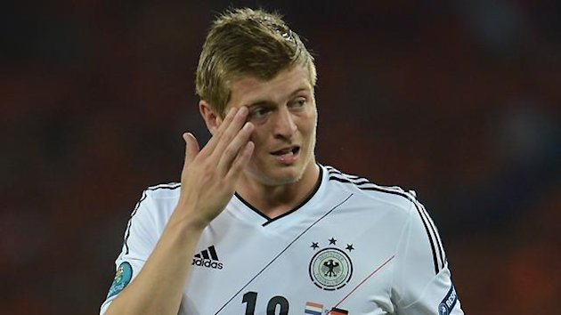 FOOTBALL Kroos Germany 2012