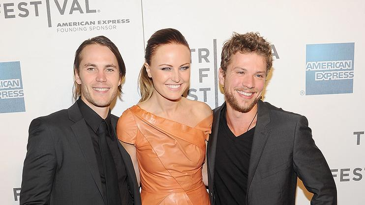 2011 Tribeca Film Festival Taylor Kitsch Malin Akerman Ryan Phillippe
