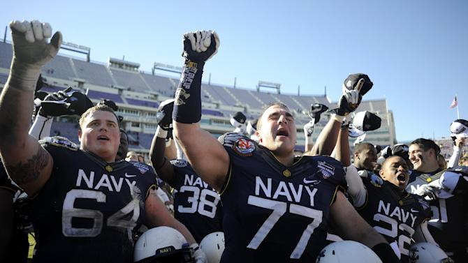 Navy runs past Middle Tennessee 24-6 in AF Bowl