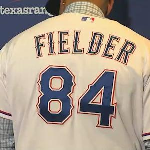 Texas Rangers Welcome No. 84 Prince Fielder
