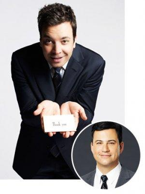 Jimmy Fallon's Staff Gets Congratulatory Lunch From Jimmy Kimmel