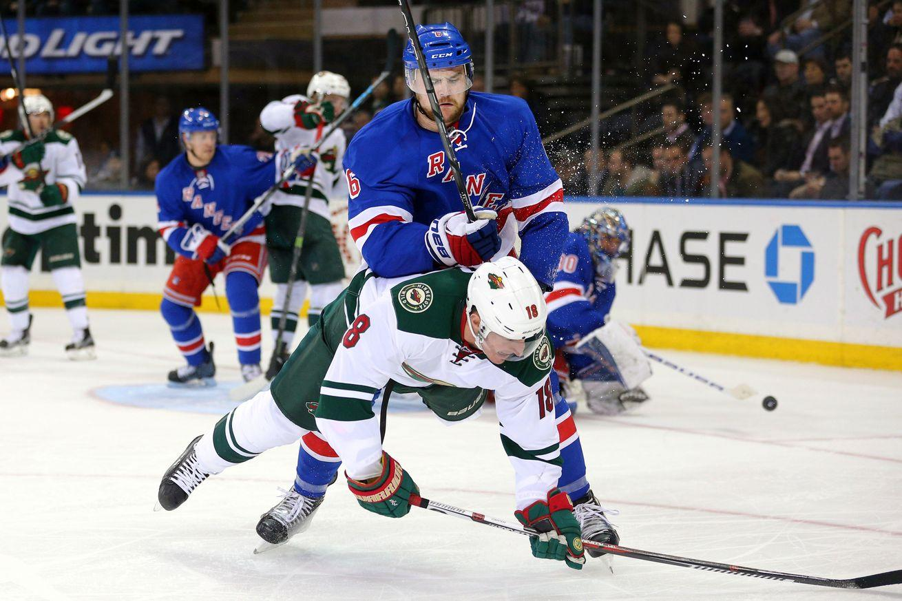 NHL scores 2016: Playoff contention keeps slipping away from Wild after another loss