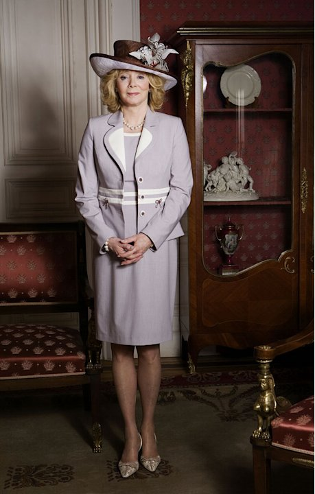 "Jean Smart stars as HRH Camilla Parker Bowles in ""William & Catherine: A Royal Romance."""