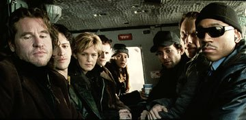 Val Kilmer , Clifton Collins Jr. , Kathryn Morris , Jonny Lee Miller , Patricia Velasquez , Eion Bailey , Christian Slater and LL Cool J in Dimension Films' Mindhunters