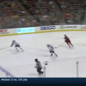 Roberto Luongo Save on Justin Fontaine (11:20/3rd)