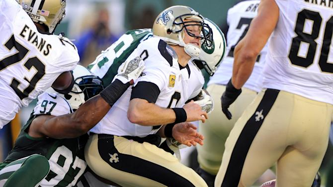 NFL: New Orleans Saints at New York Jets