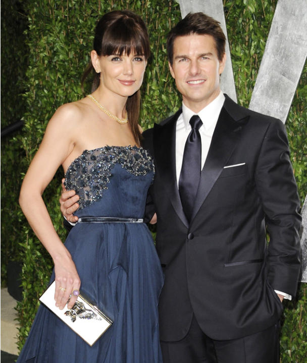 "Celebrity splits 2012: We were shocked when Tom Cruise and Katie Holmes announced that they were divorcing after six years of marriage. Katie's lawyer released a statement saying: ""This is a personal"