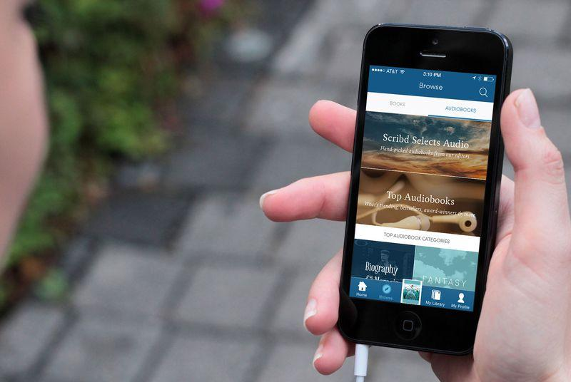 Scribd adds over 9,000 more audiobooks to better take on Audible