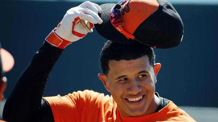 Orioles 3B Machado disappointed with new contract