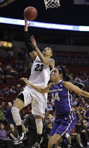 No. 19 Colorado women defeat Washington 70-59