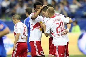 Montreal Impact 1-2 New York Red Bulls: 10-man Bulls come from behind to win