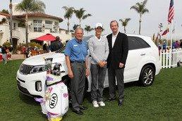 Kia Motors America And LPGA Star Michelle Wie Donate New Car To Camp Pendleton's Armed Services YMCA Operation Hero Program