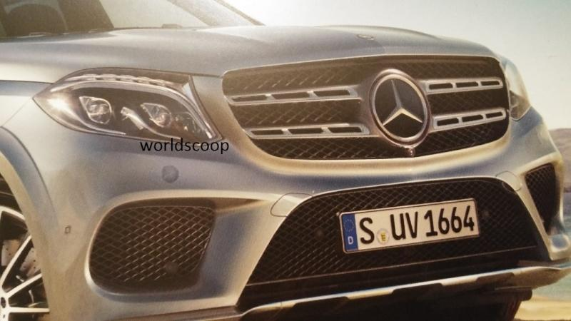 "Say ""hello"" to the new Mercedes-Benz GLS-Class well ahead of its scheduled LA debut"