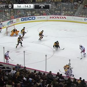 Fleury withstands the pressure