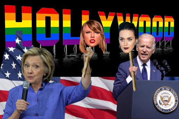 Hillary Clinton vs. Joe Biden Round 2: The Battle for Gay Hollywood Heats Up