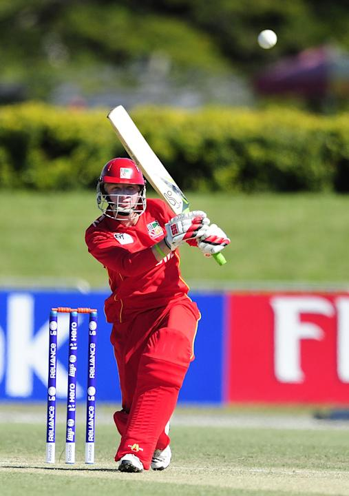 ICC U19 Cricket World Cup 2012 - India v Zimbabwe