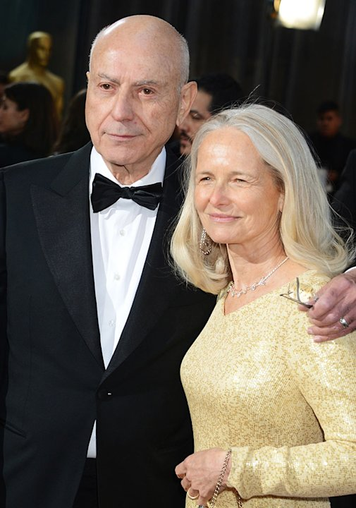 85th Annual Academy Awards - Arrivals: Alan Arkin and Suzanne Newlander Arkin