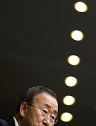 "Climate change is generating an ""unholy brew"" of extreme weather events that threaten global security, the UN Secretary General Ban Ki-moon (pictured) said as the Security Council recognized the issue's potential effect on world peace"
