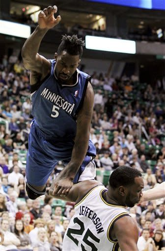 Hayward, Millsap get Jazz past Timberwolves in OT