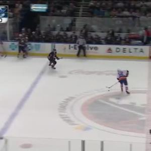 Johan Larsson Hit on John Tavares (18:24/2nd)