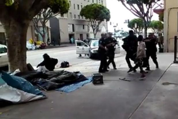 LAPD Explains Skid Row Shooting on Twitter Amid Strong Reactions (Video)