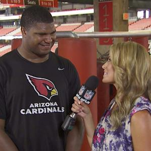 Heads Up Across America: Arizona Cardinals defensive end Calais Campbell talks tackling
