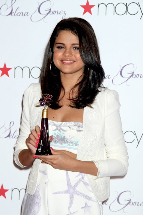 Selena Gomez promotes her signature fragrance Mesmerize at Macy's Herald Square in ManhattanNew York City, USA -  09.06.12Mandatory Credit: Mr Blue/WENN.com
