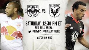 MLS Match Preview: New York Red Bulls vs. DC United