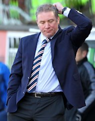 Defeat to Queen of the South disappointed Rangers boss Ally McCoist