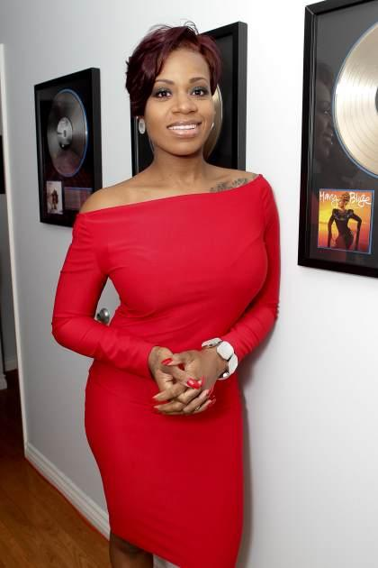 Fantasia attended the Private Listening Session For Grammy Award-Winning Artist Fantasia For Her New Album 'Side Effects Of You' at London Bridge Studios in North Hollywood on April 16, 2013 -- Getty Premium