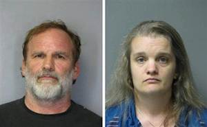 Dr. Melvin Morse and his wife Pauline are seen in this combination of booking photos released by Delaware State Police