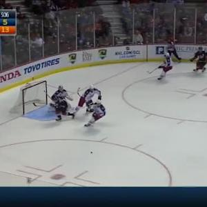 Sergei Bobrovsky Save on Ryan Getzlaf (08:43/2nd)