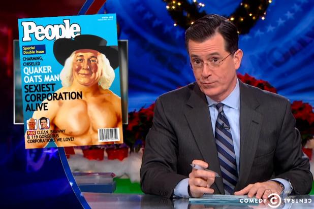 "Stephen Colbert on ACSI Results: 'The Free Market Has Spoken, and It Said, 'F— You."" (Video)"