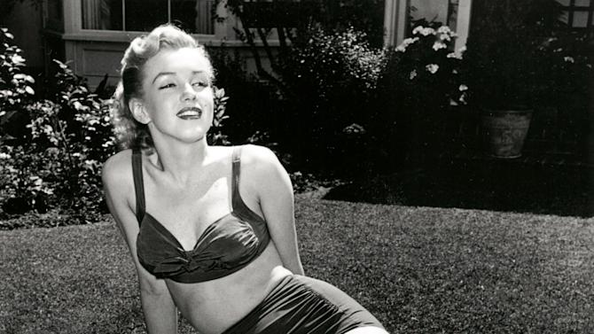 In this image released by Beverly Hills Collection, actress Marilyn Monroe is seen at The Beverly Hills Hotel. The Beverly Hills Hotel is celebrating its 100th Anniversary in May. (AP Photo/Beverly Hills Collection)