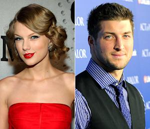 "Taylor Swift Has ""Puppy Dog"" Crush on Tim Tebow"