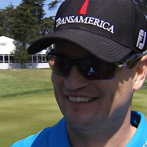 Zach Johnson interview after Round 1 of Cadillac Match Play
