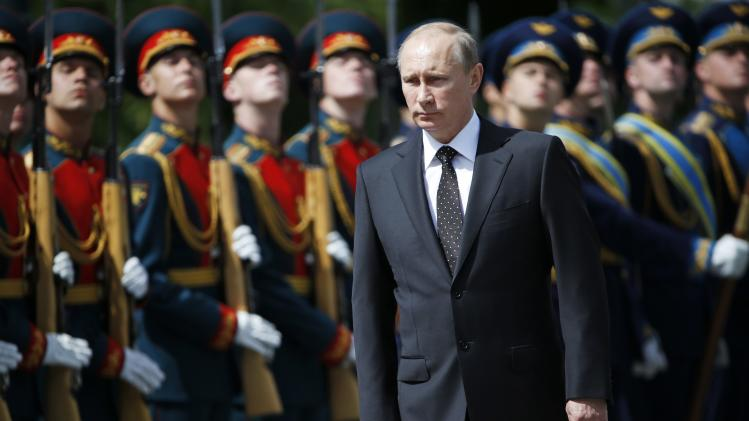 File photo of Russia's President Putin attending a ceremony to commemorate the anniversary of the beginning of the Great Patriotic War against Nazi Germany in 1941, in Moscow