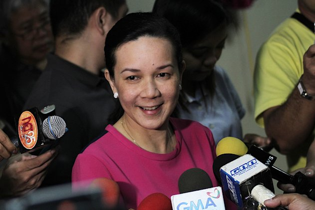 MTRCB Chair Grace Poe-Llamanzares. (Photo by NPPA)