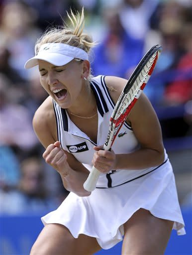 Vesnina wins Eastbourne final