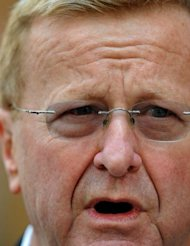 Australian Olympic Committee chief John Coates (pictured) said prescription medications such as the powerful sleeping pill Stilnox would be banned for the first time at London after ex-swimming star Grant Hackett said he had developed a &quot;heavy reliance&quot; on the drug