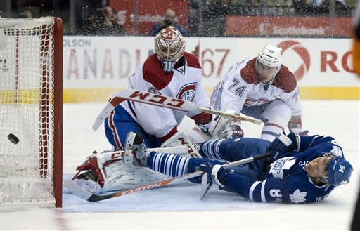 Canadiens net 3 in 3rd, top Maple Leafs 5-2