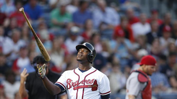 Cardinals hand slumping Braves 7th straight loss