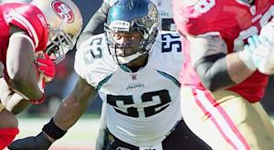 Jaguars place LB Smith on I.R. with designation to return