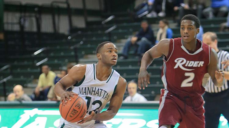 NCAA Basketball: Rider at Manhattan